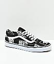 Vans Old Skool Logo Mix Black & White Shoes