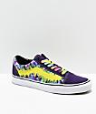 Vans Old Skool Misterio Tie Dye Skate Shoes