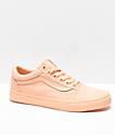 Vans Old Skool Mono Apricot Ice Skate Shoes
