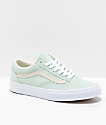 Vans Old Skool Pastel Bay & White Skate Shoes