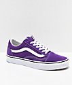 Vans Old Skool Petunia & True White Skate Shoes