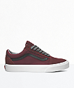 Vans Old Skool Port Royale & Black Skate Shoes