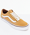 Vans Old Skool Pro Amber & White Shoes
