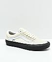 Vans Old Skool Pro Classic White & Black Skate Shoes