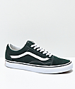 Vans Old Skool Scarab zapatos de skate en verde