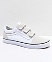 Vans Old Skool V True White zapatos de skate