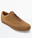 Vans Old Skool zapatos de skate en marrón (hombre)
