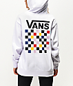Vans Party Check White Hoodie