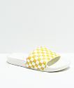 Vans Pineapple Checkerboard Slide-On Sandals