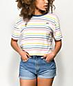 Vans Pool Party Stripe Boxy T-Shirt