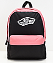 Vans Realm Black & Desert Rose Backpack
