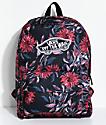 Vans Realm Black Dahlia 22L Backpack