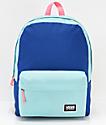 Vans Realm Classic mochila de color agua, azul y rosa
