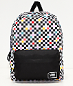 Vans Realm Party Checkerboard Backpack