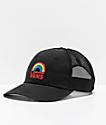 Vans Roadster Rainbow Black Trucker Hat