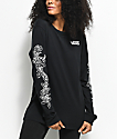 Vans Rose Thorns camiseta negra de manga larga