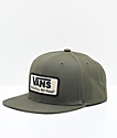 Vans Rowley Grape Leaf gorra snapback