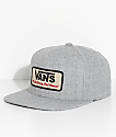 Vans Rowley Heather Grey Snapback Hat