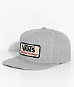 Vans Rowley Heather Grey Snapback Hat