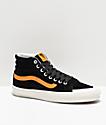 Vans Sk8-Hi 138 Black & Zinnia Yellow Skate Shoes