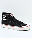 Vans Sk8-Hi 138 Decon SF Dane Black, Red & White Skate Shoes