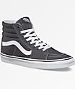 Vans Sk8-Hi Canvas Grey Shoes