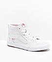 Vans Sk8-Hi Cranmer Pro White Skate Shoes