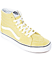 Vans Sk8-Hi Dusty City Yellow & White Skate Shoes