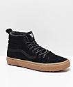 Vans Sk8-Hi MTE Black & Gum Shoes