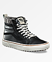 Vans Sk8-Hi MTE Black & Marshmallow Shoes