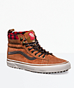 Vans Sk8-Hi MTE Glazed Ginger & Marshmallow Shoes
