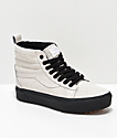 Vans Sk8-Hi MTE Moonbeam & Black Platform Shoes