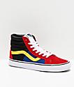 Vans Sk8-Hi OTW Rally Reissue Chili Red, Black & White Skate Shoes