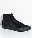 Vans Sk8-Hi Pro Blackout Skate Shoe