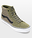 Vans Sk8-Hi Pro zapatos de skate en negro y color olivo