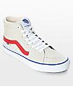 Vans Sk8-Hi Pro zapatos de skate en rojo y blanco