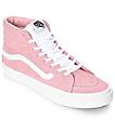 Vans Sk8-Hi Retro Sport zapatos de skate en blanco y color melocotón