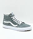 Vans Sk8-Hi Stormy zapatos de skate en gris
