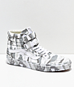 Vans Sk8-Hi Tumble Reissue V zapatos de skate de camuflaje blanco