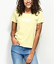 Vans Skimmer Box Drop V camiseta amarilla