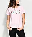 Vans Skimmer Floral Pink T-Shirt