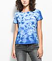 Vans Skimmer OTW camiseta azul con efecto tie dye