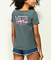 Vans Skimmer Wave Check Slate T-Shirt