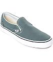Vans Slip-On Goblin Blue-Grey & White Skate Shoes