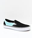 Vans Slip-On Pro Asymmetrical zapatos de skate negros