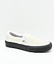 Vans Slip-On Pro Classic White & Black Skate Shoes