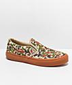 Vans Slip-On Sketch zapatos de skate de camuflaje