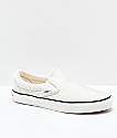 Vans Slip-On Snow White zapatos de skate de punto jersey
