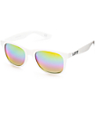 Vans Spicoli White & Rainbow Mirror Sunglasses