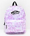 Vans Sporty Realm mochila con lavado violeta